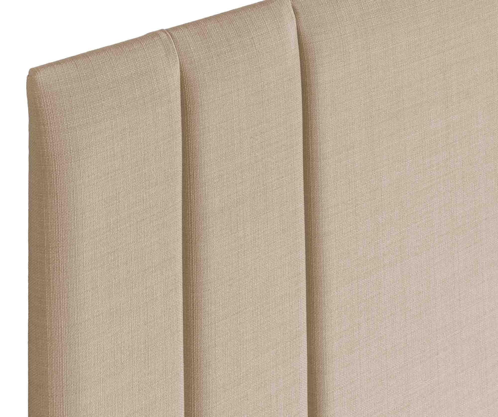 Slate Single 3ft Swanglen Sphinx Gem Fabric Headboard with Wooden Struts