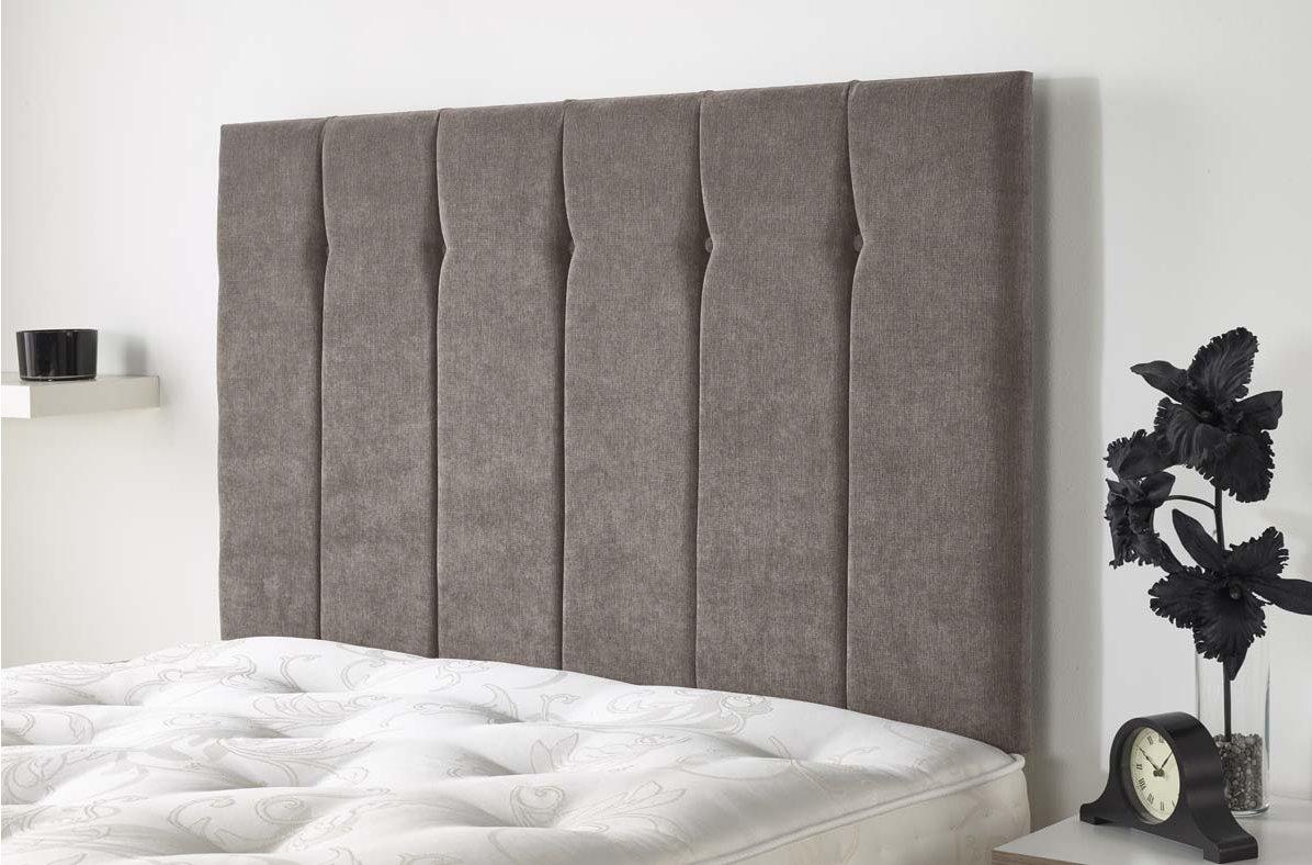 Aspire Furniture Portmoor Headboard In Katsuro Linen Fabric   Taupe   Small  Double 4ft Main Image