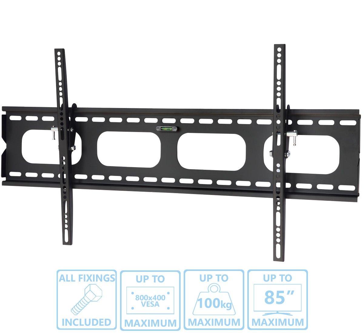 Ultimate Mounts Um118l Super Slim Tilt Tv Wall Brackets