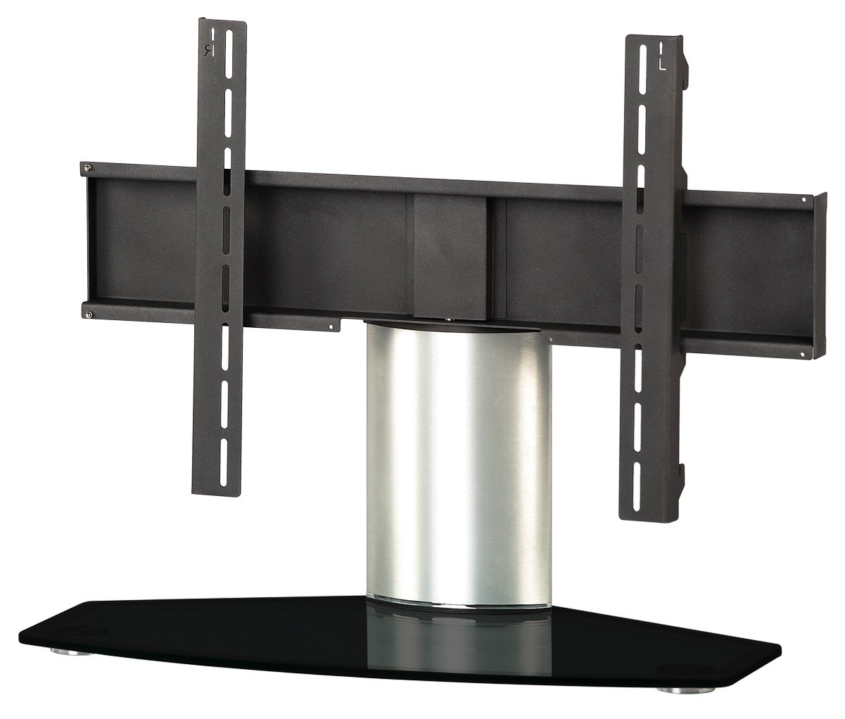 Wonderful B GRADE/Box Slightly Damaged Sonorous Black And Silver Universal Table Top  Stand Main Image
