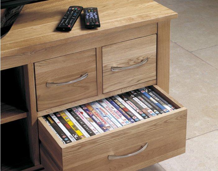 mobel oak widescreen television cabinet main image alternative image alternative image