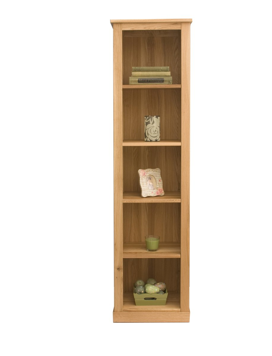 Mobel oak narrow bookcase for Mobel