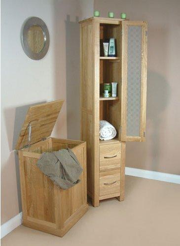 mobel oak closed bathroom unit tall main image alternative image alternative image