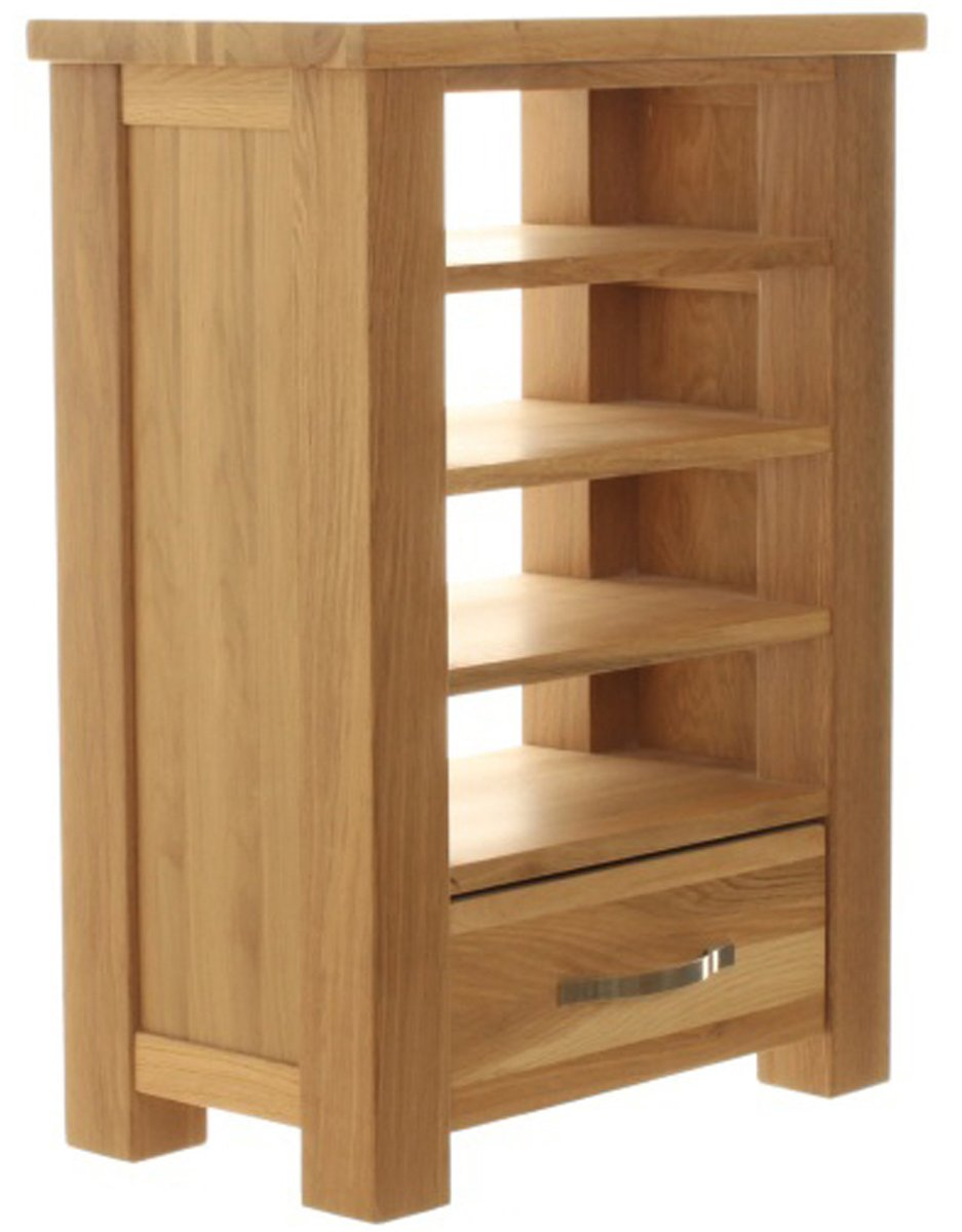 aston oak home entertainment cabinet. Black Bedroom Furniture Sets. Home Design Ideas
