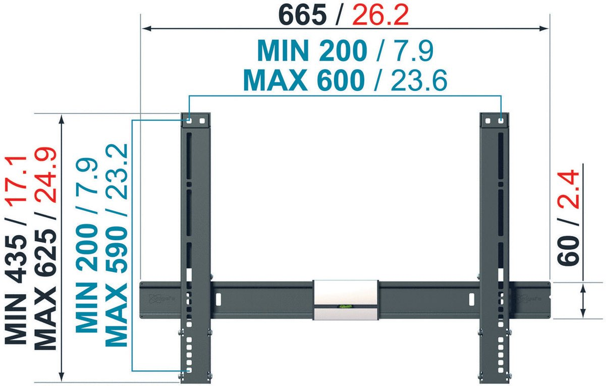Vogel S Thin Series Tilting Wall Bracket For 40 Quot To 65 Quot Tvs