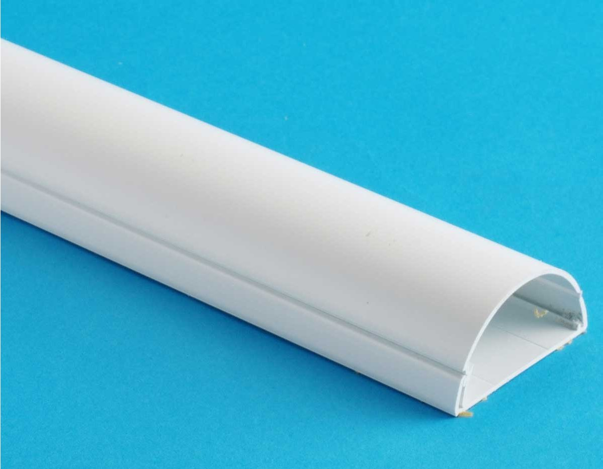 Cable Trunking Product : D line tsc white cable trunking