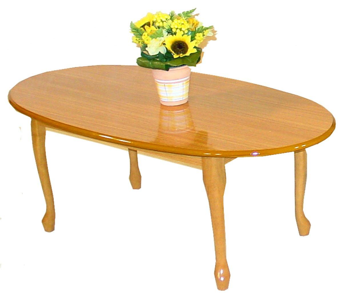 queen anne golden oak coffee table With golden oak coffee table