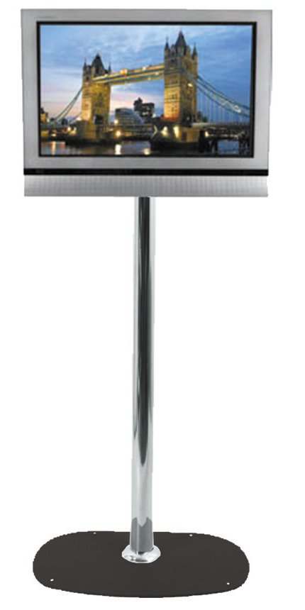 Premier Mounts Single One Pole Plasma Lcd Led Tv Monitor Floor