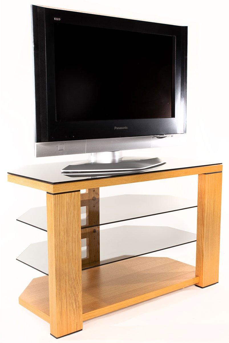 Optimum optimum edge 800 natural oak tv stands Oak tv stands
