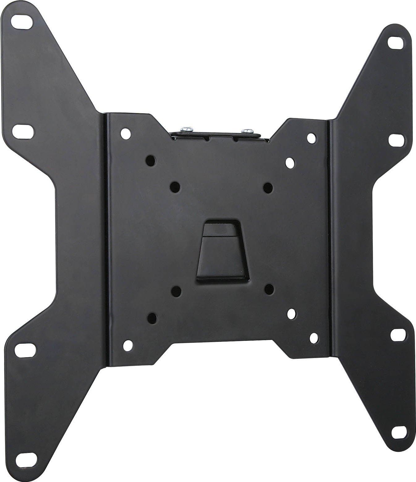 Ultimate mounts um114 black flat fixed tv wall mount plate - Tv mount wall plate ...