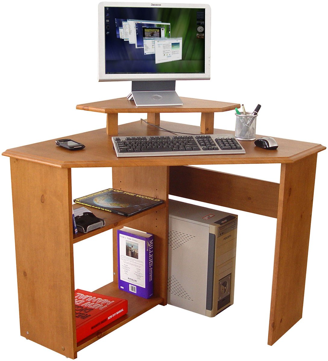 Teknik corner desks - Corner office desk ...
