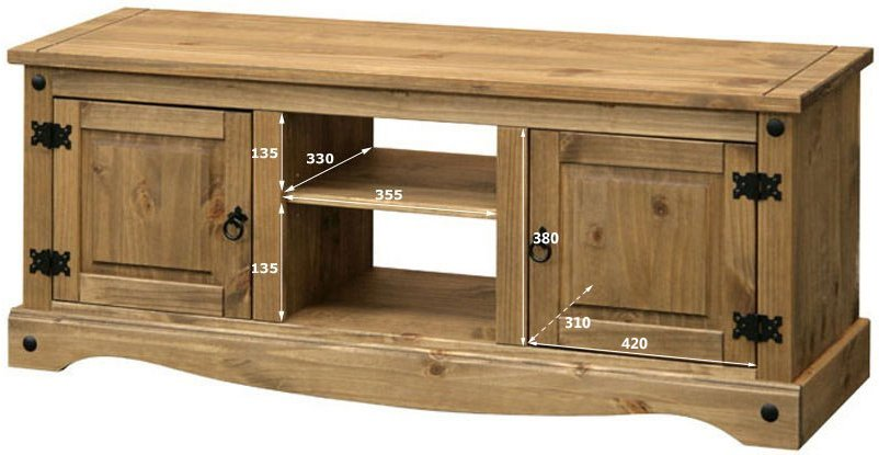 Core Products Cr912 Classic Corona Large Tv Unit For Up To