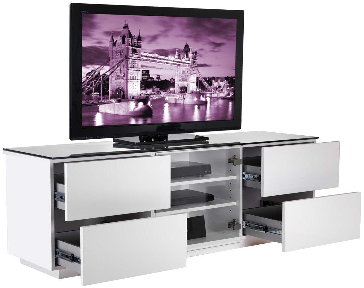 uk cf london wht fully assembled tv stands. Black Bedroom Furniture Sets. Home Design Ideas