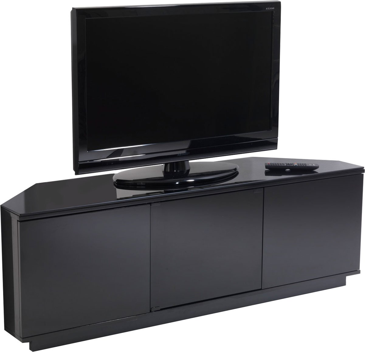 uk cf milan blk fully assembled tv stands. Black Bedroom Furniture Sets. Home Design Ideas