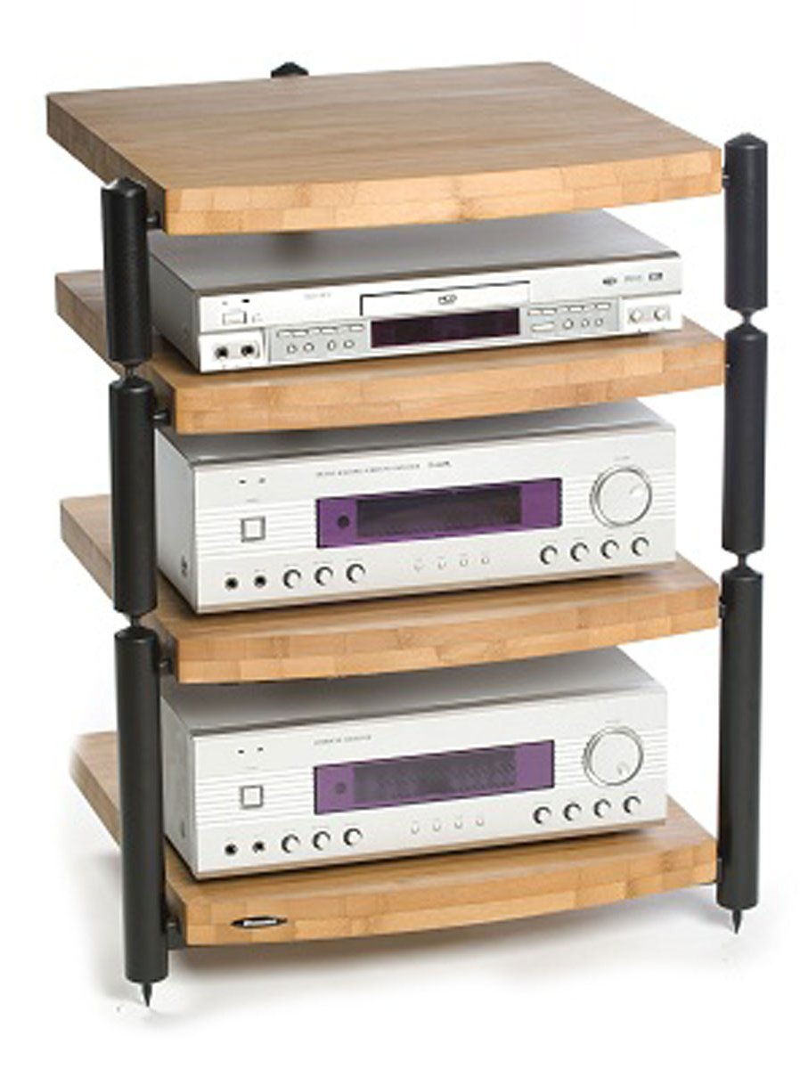 atacama eris eco 5 0 4 shelf hifi stands. Black Bedroom Furniture Sets. Home Design Ideas