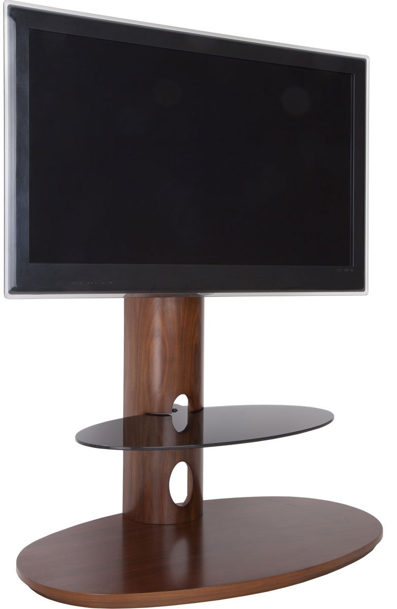 avf chepstow walnut cantilever tv stand. Black Bedroom Furniture Sets. Home Design Ideas