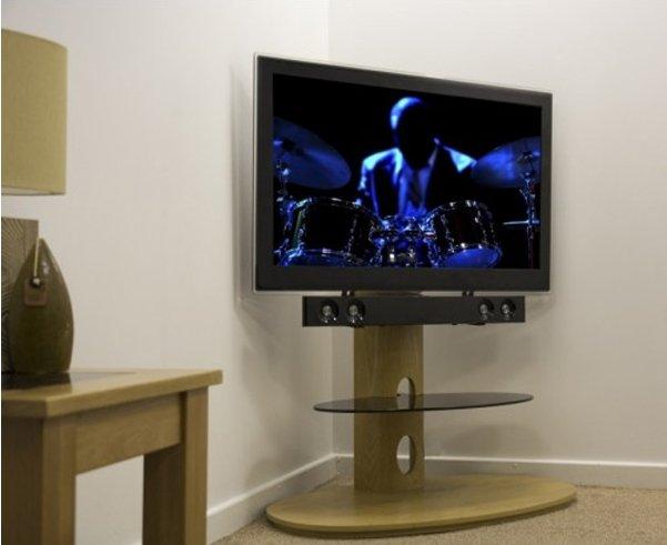 Avf Chepstow Oak Cantilever Tv Stand