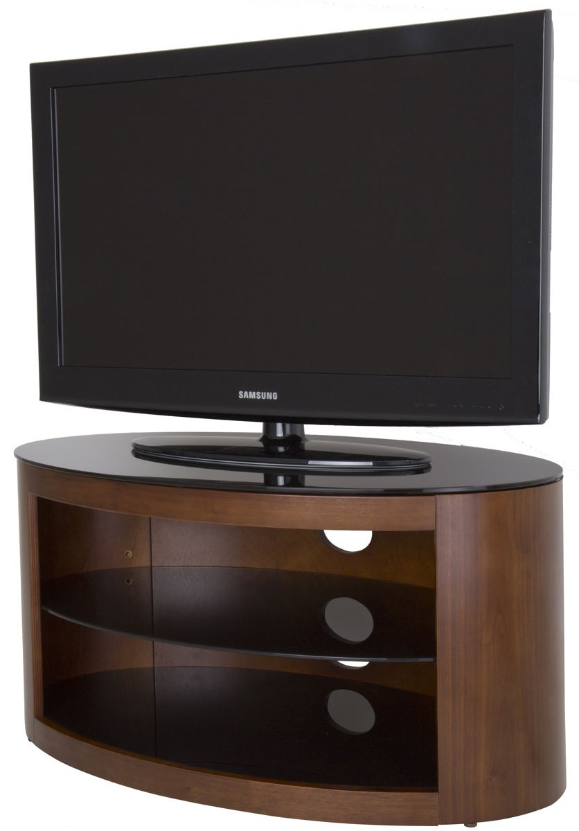 AVF Buckingham Walnut TV Stand for up to 37""