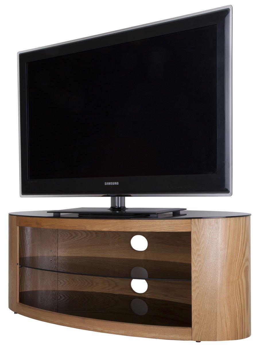 Avf buckingham 1100 oak tv stand Oak tv stands
