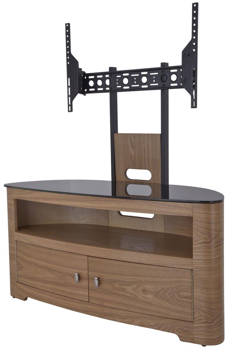 wood tv stand with mount. avf fsl1000bleo blenheim oak tv stand with mount for up to 65\\\ wood tv
