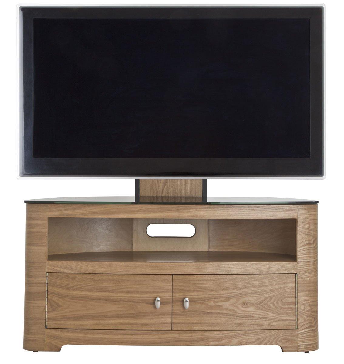 avf blenheim oak cantilever tv stand. Black Bedroom Furniture Sets. Home Design Ideas