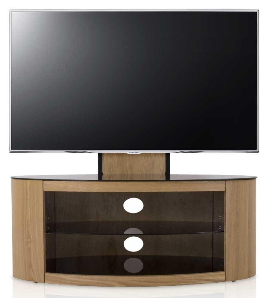 Avf buckingham oak cantilever tv stand for Avf furniture