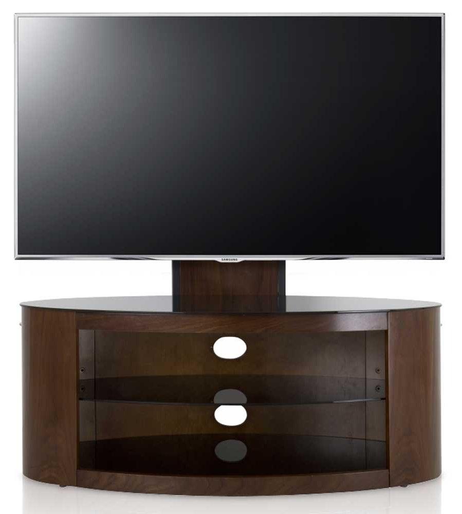 AVF Buckingham Walnut Cantilever TV Stand