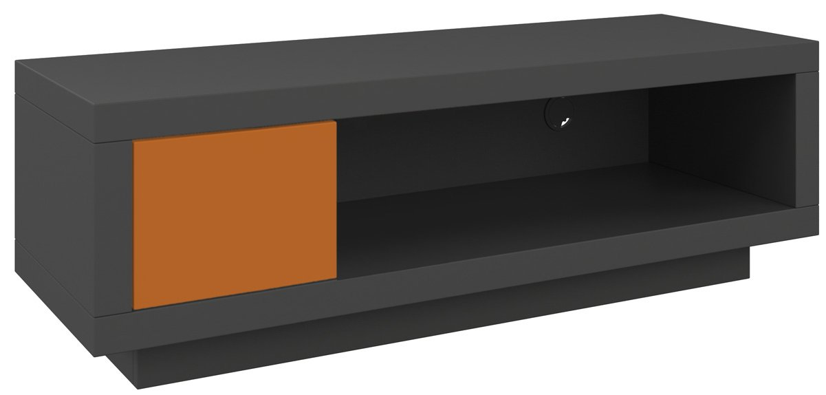 schnepel varic l tv stand in anthracite. Black Bedroom Furniture Sets. Home Design Ideas
