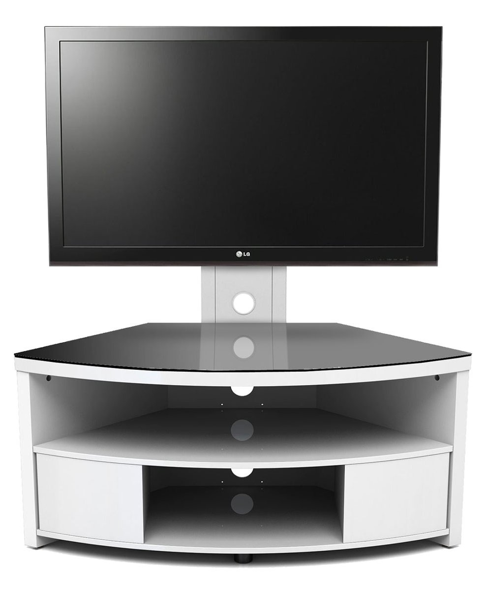 Gloss White Tv Cabinet With Bracket