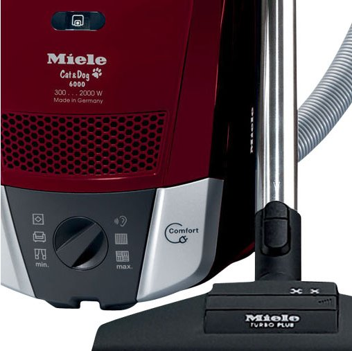 Miele s6220 cat and dog vacuum cleaner tayberry red for Miele cat dog
