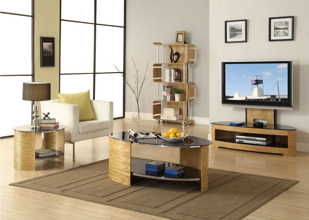 jual florence ob oval cantilever tv stand alternative image