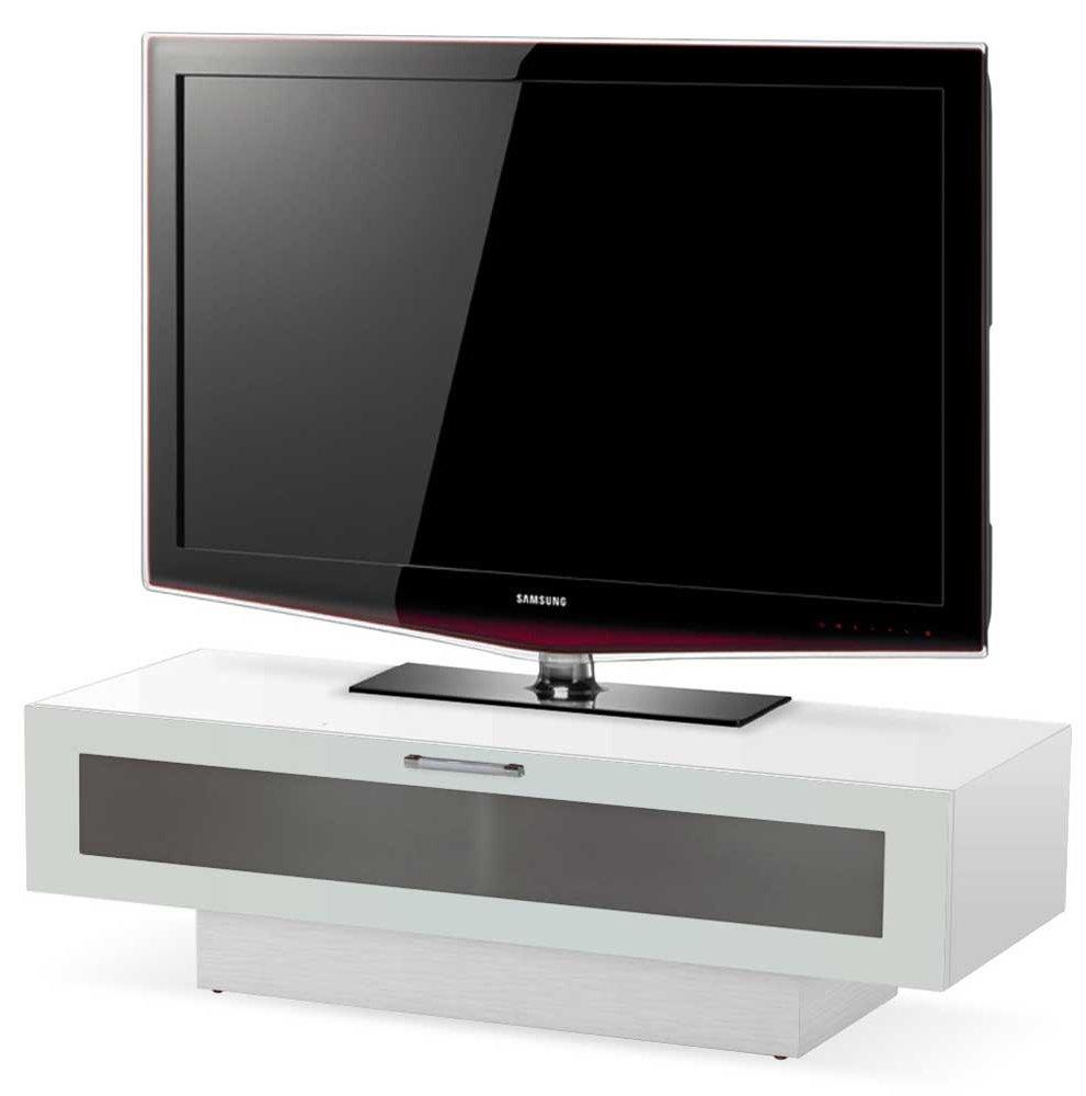stil stand high gloss white tv cabinet 1 tier. Black Bedroom Furniture Sets. Home Design Ideas