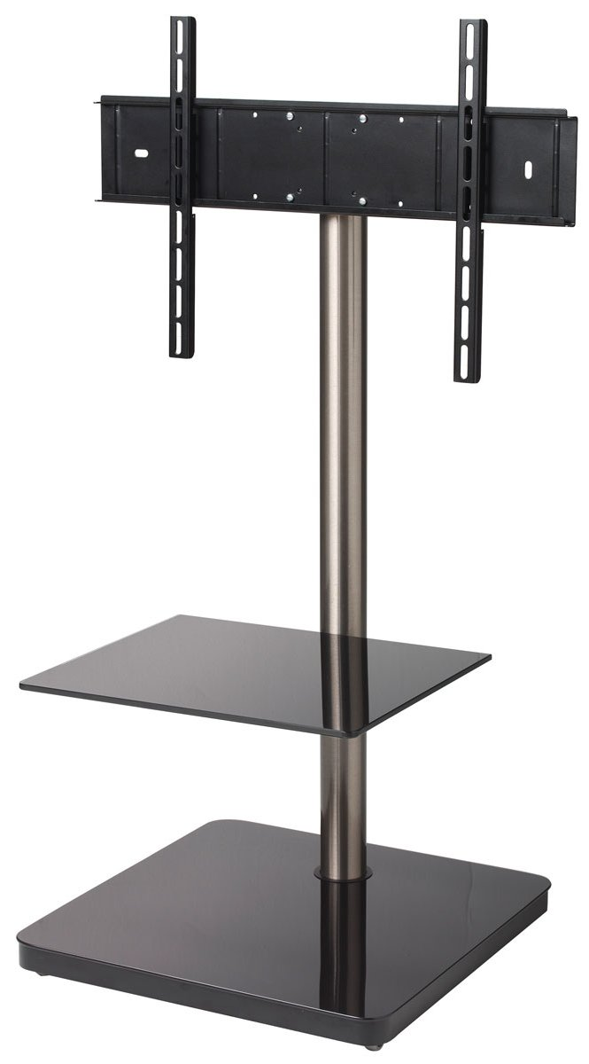 B Tech Btf800 Black Cantilever Tv Stand