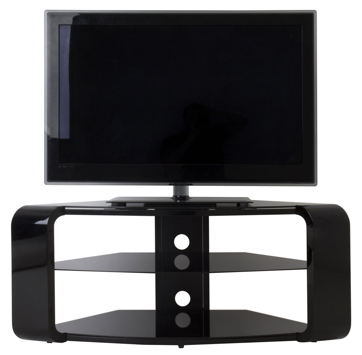 AVF FS1174COB Como Black TV Stand : products19970fs1174cob1 from www.theplasmacentre.com size 1201 x 1179 jpeg 79kB