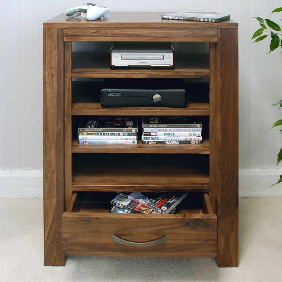 baumhaus cwc09c mayan walnut hifi stand. Black Bedroom Furniture Sets. Home Design Ideas