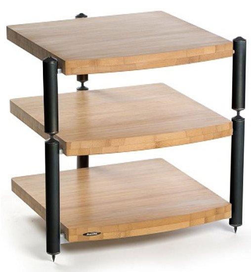 atacama eris black and bamboo hifi stand. Black Bedroom Furniture Sets. Home Design Ideas