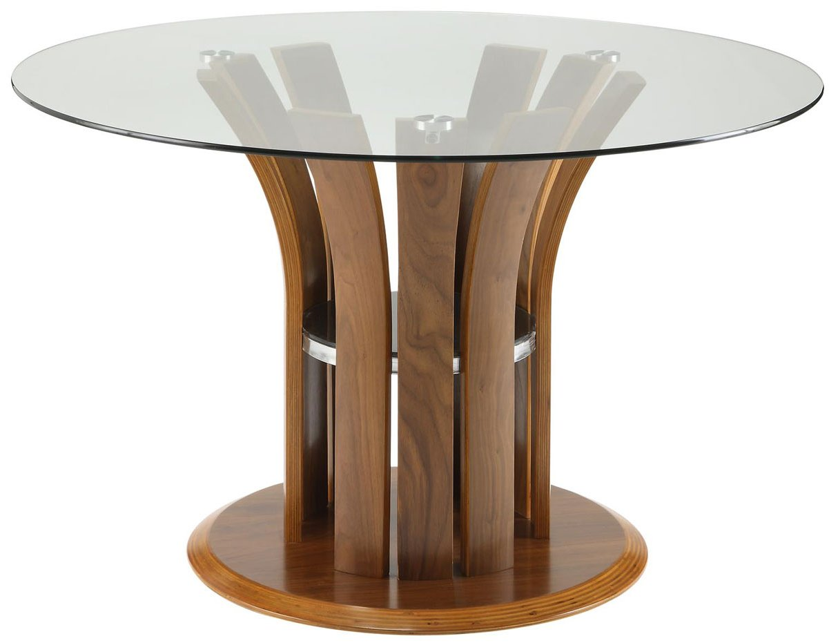 Jual jf601 walnut dining table for Walnut dining table