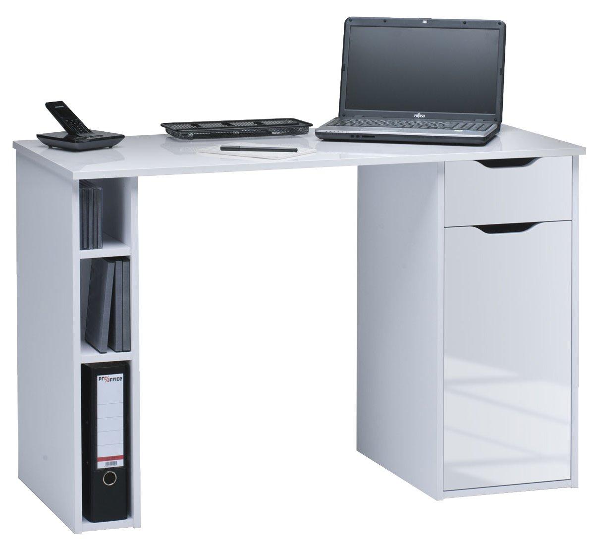 Maja Vegas White Computer Desk Main Image