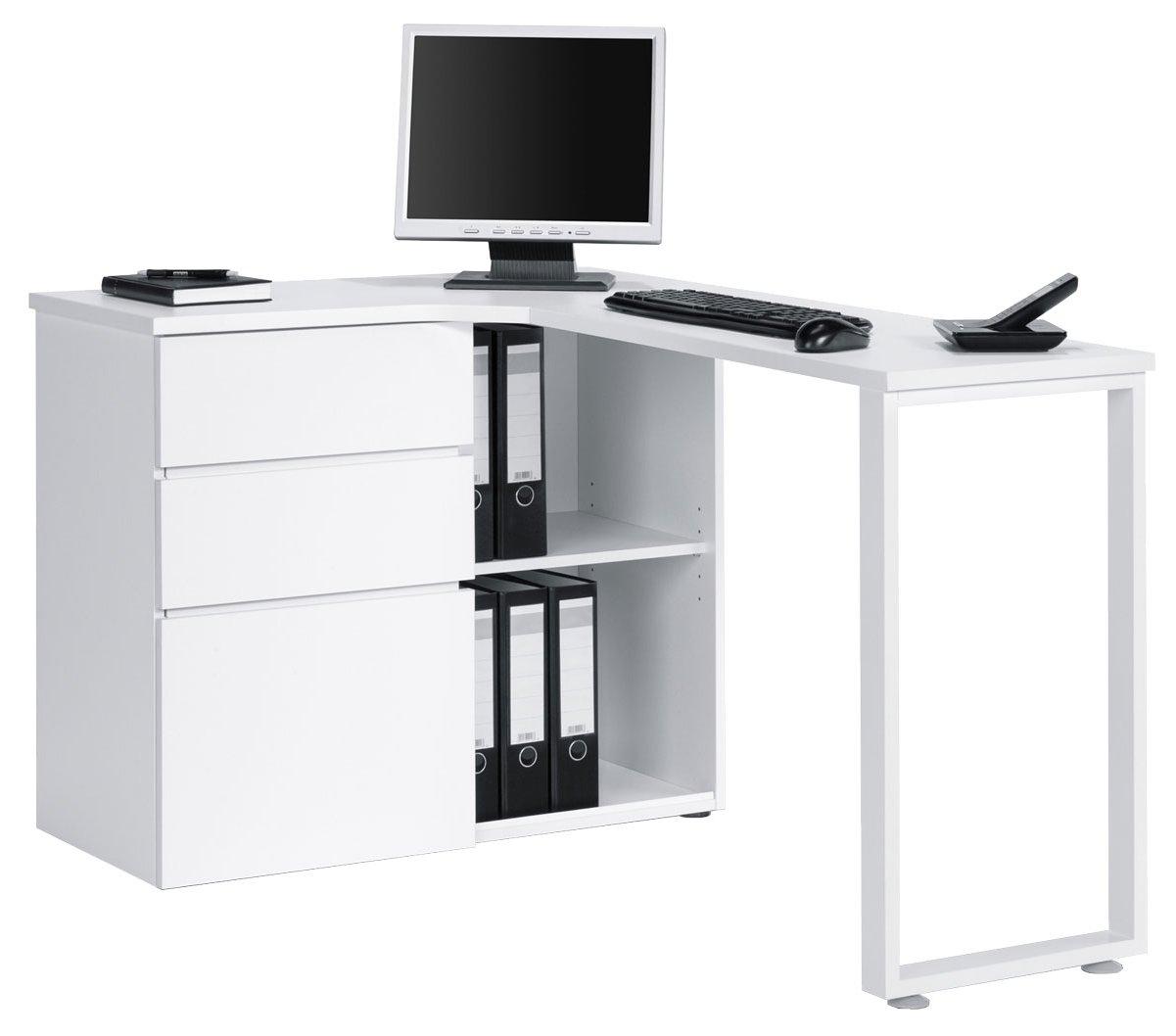 office corner workstation. Maja Penninsular White Corner Desk Main Image Office Workstation E