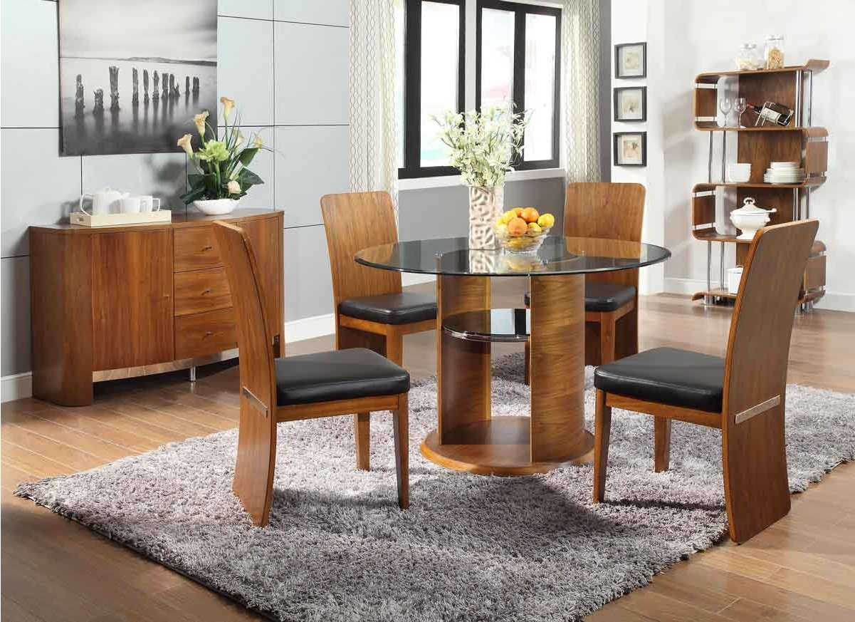 Jual Jf603 Walnut Dining Table Alternative Image