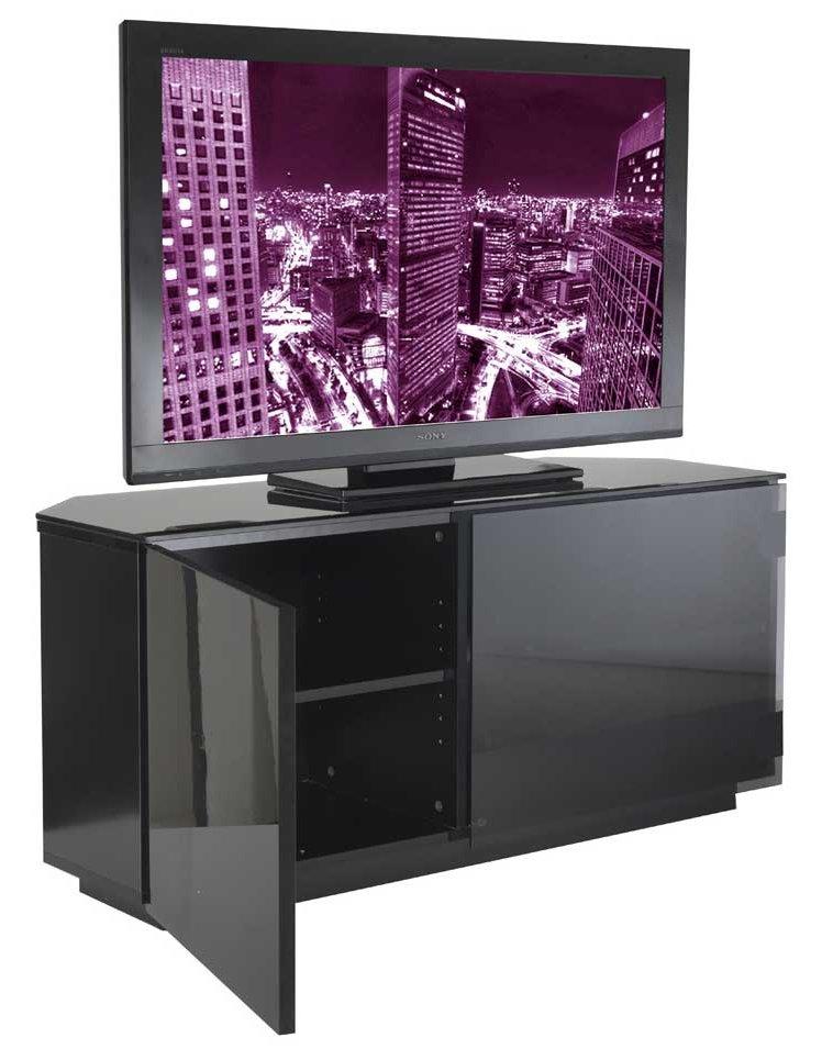 tokyo high gloss black tv stand. Black Bedroom Furniture Sets. Home Design Ideas