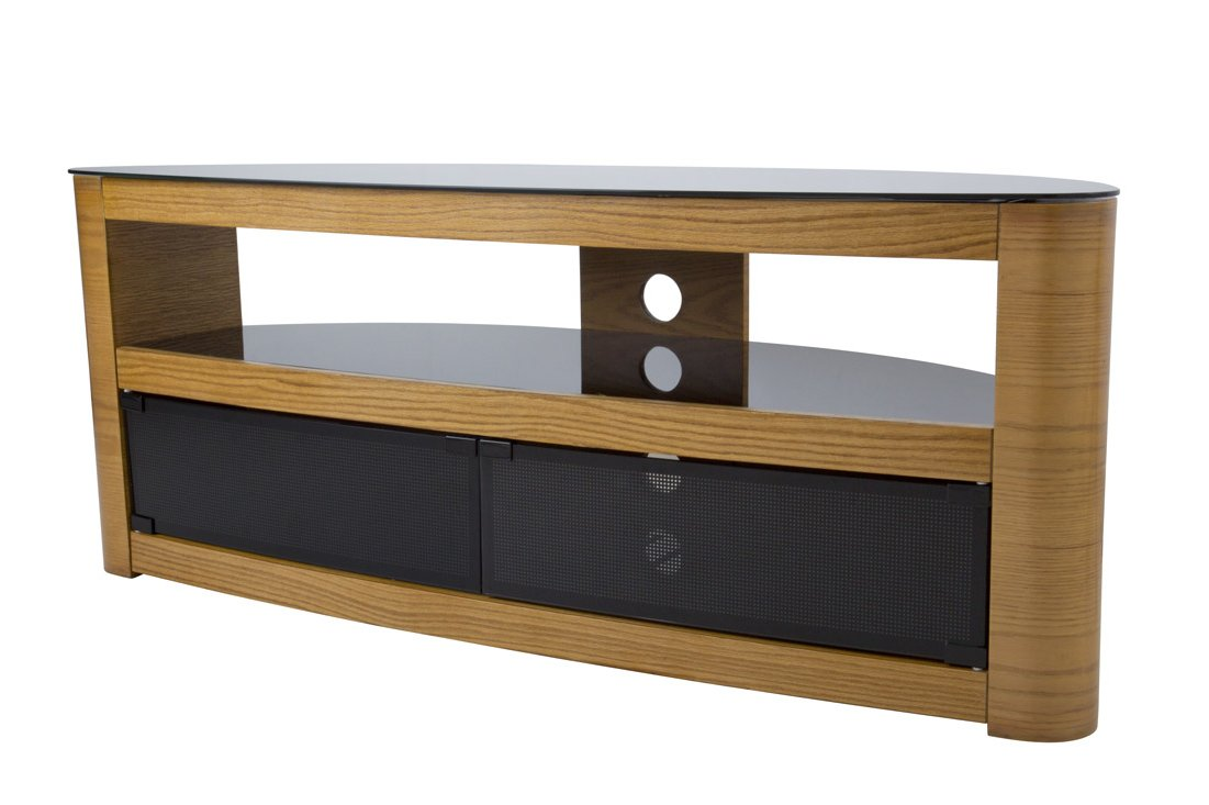 avf burghley fs1250 oak tv stand. Black Bedroom Furniture Sets. Home Design Ideas
