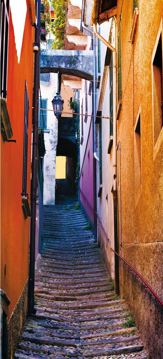 1wall Italian Backstreet Door Mural