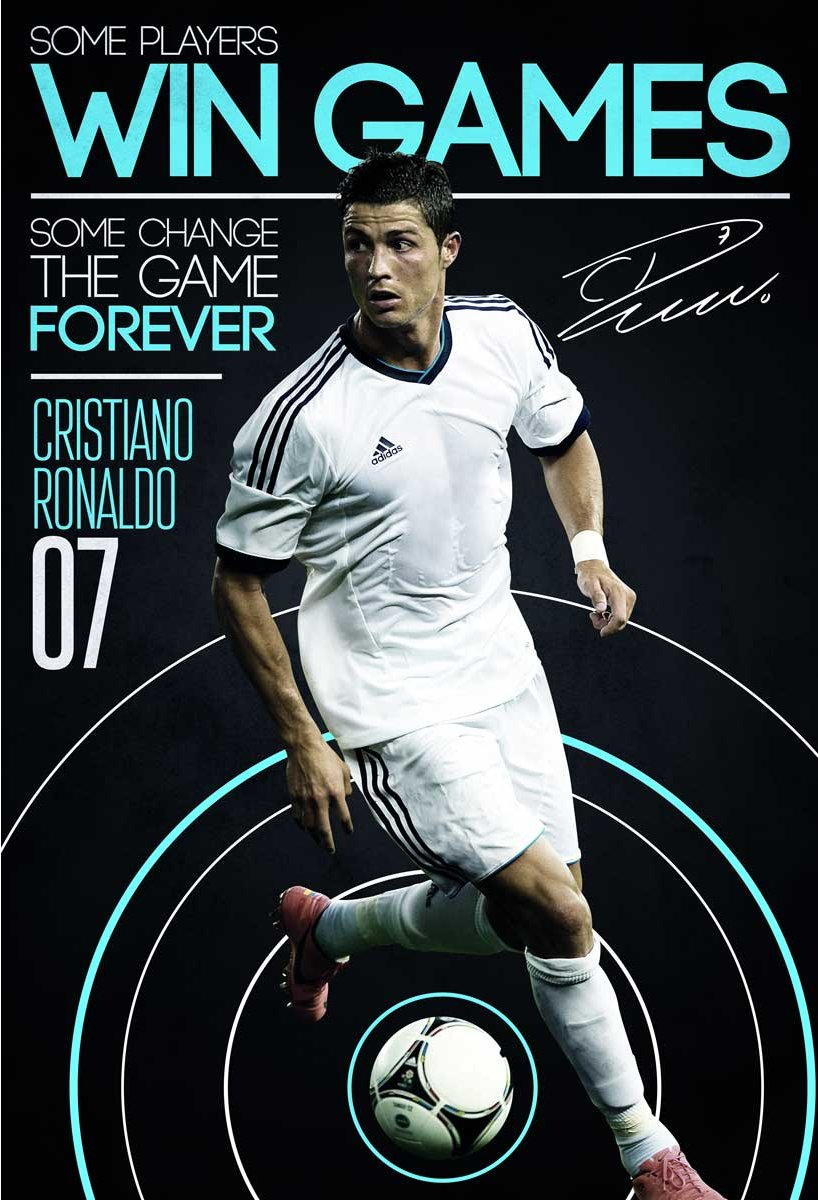 1wall cristiano ronaldo wall mural for Cristiano ronaldo wall mural