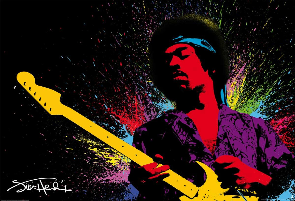 1wall jimi hendrix wall mural 1wall jimmy hendrix wall mural alternative image altavistaventures Images