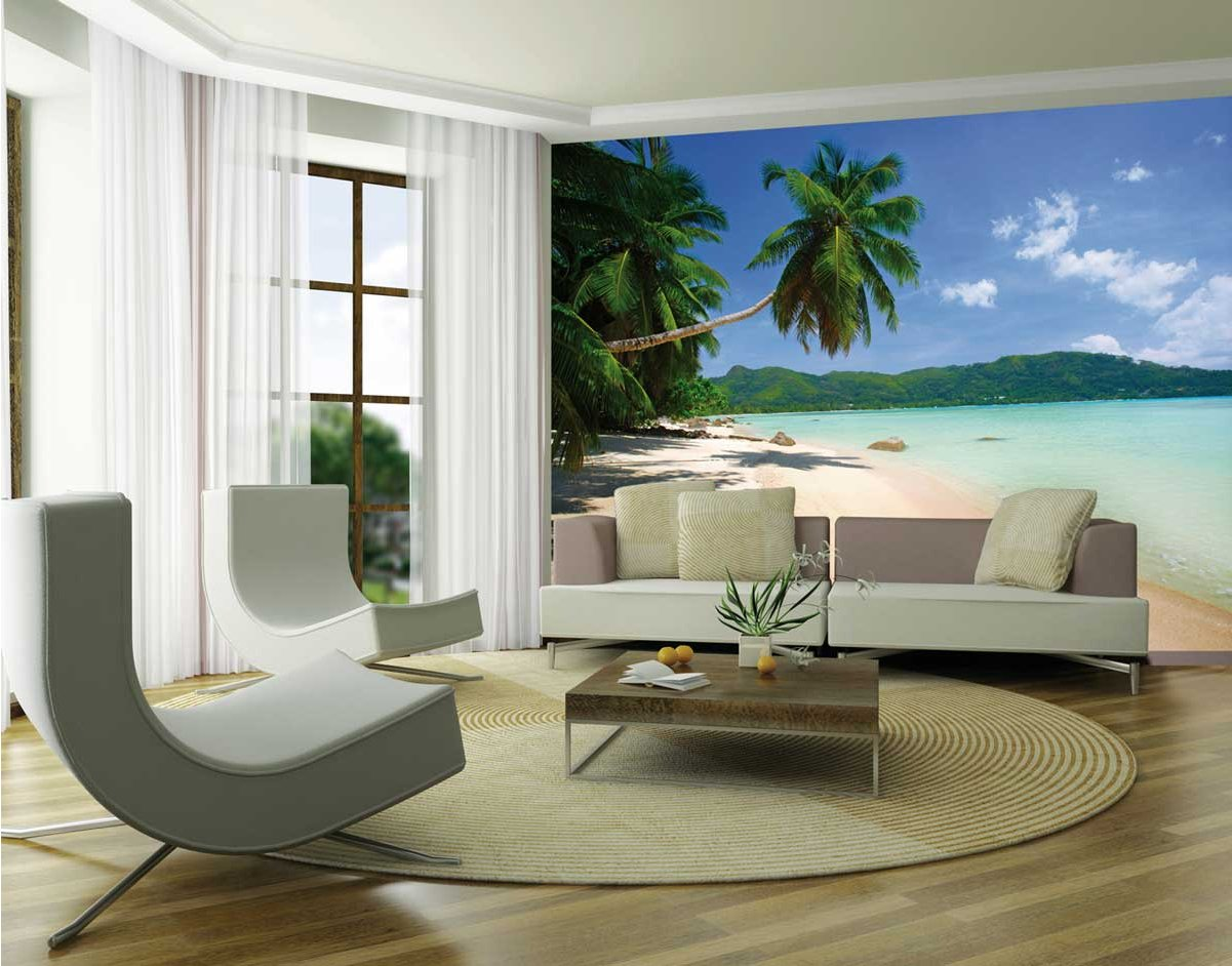 1Wall Giant Beach Scene Wall Mural Main Image