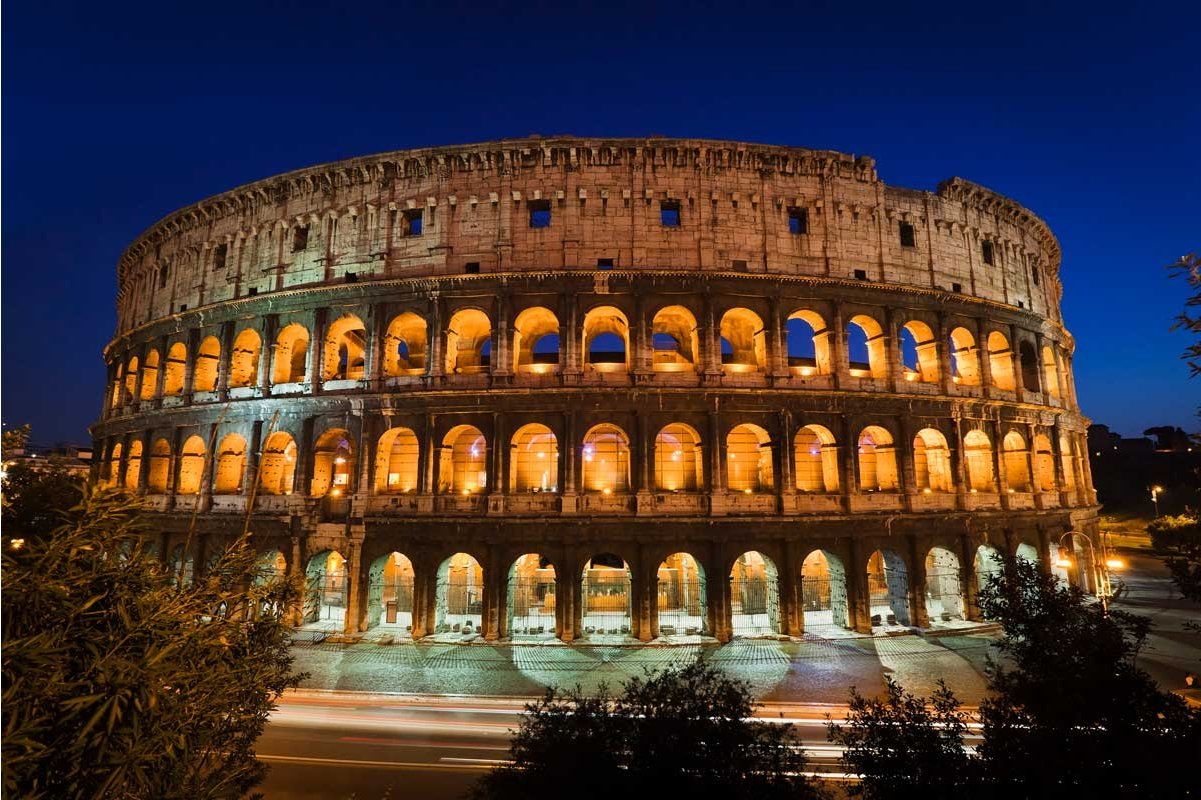 1wall Giant Colosseum Wall Mural
