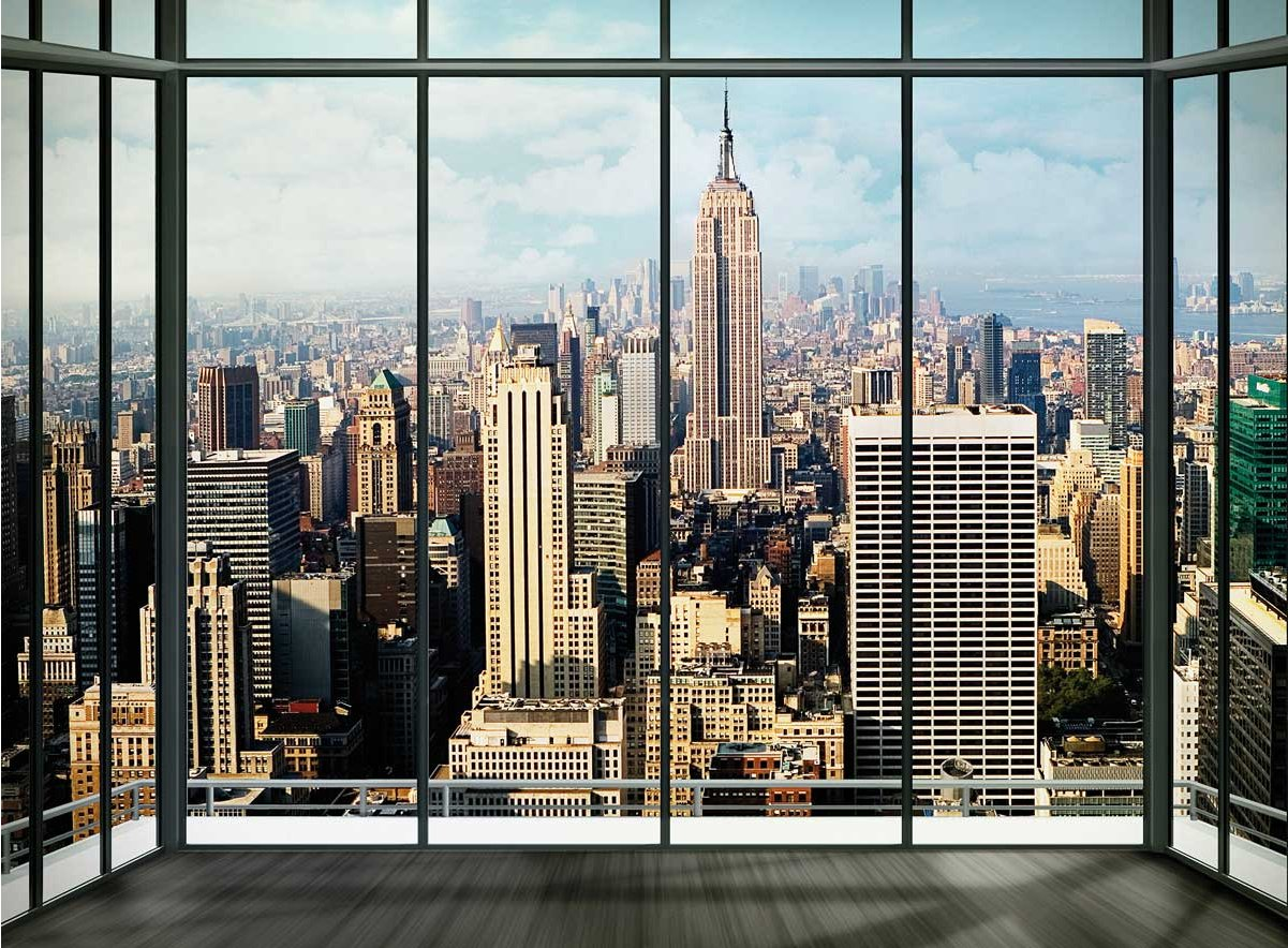 1Wall Giant New York Skyline Wall Mural