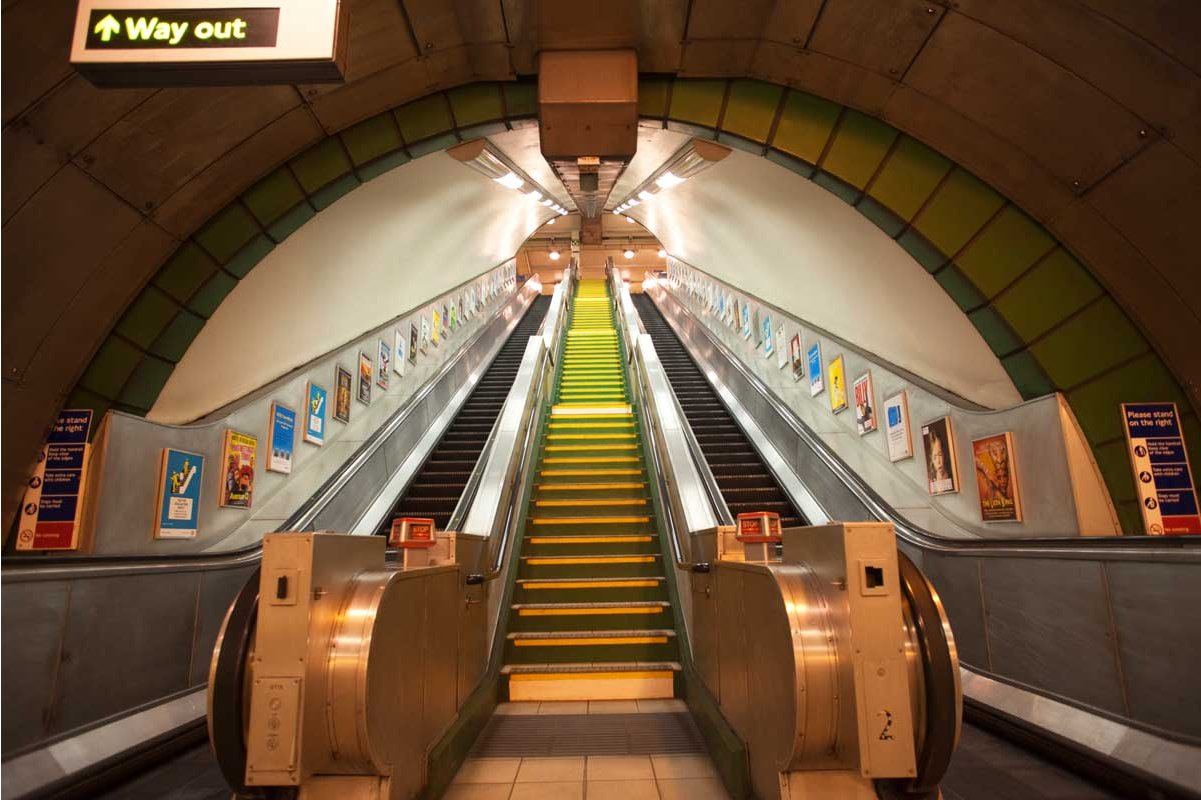 1wall Giant London Underground Wall Mural