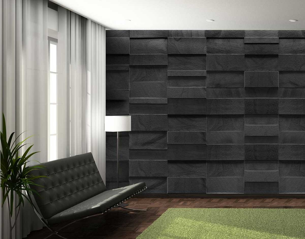 1wall giant rock effect wall mural